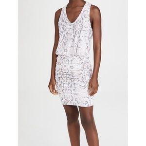Sundry   Python Print Sleeveless Dress   Pink   2